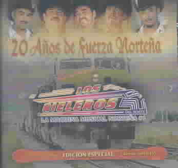 20 ANOS DE FUERZA NORTENA BY LOS RIELEROS DEL NOR (CD)